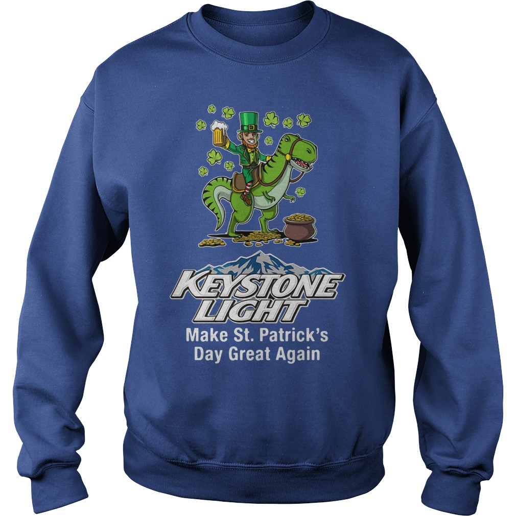Keystone Light Make St. Patrick's Day Great Again Sweater
