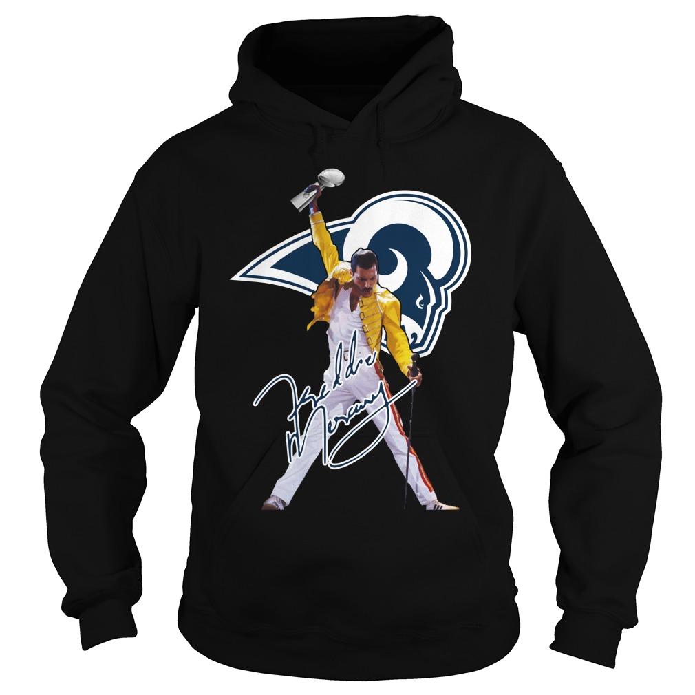 Los Angeles Rams Freddie Mercury Hoodie