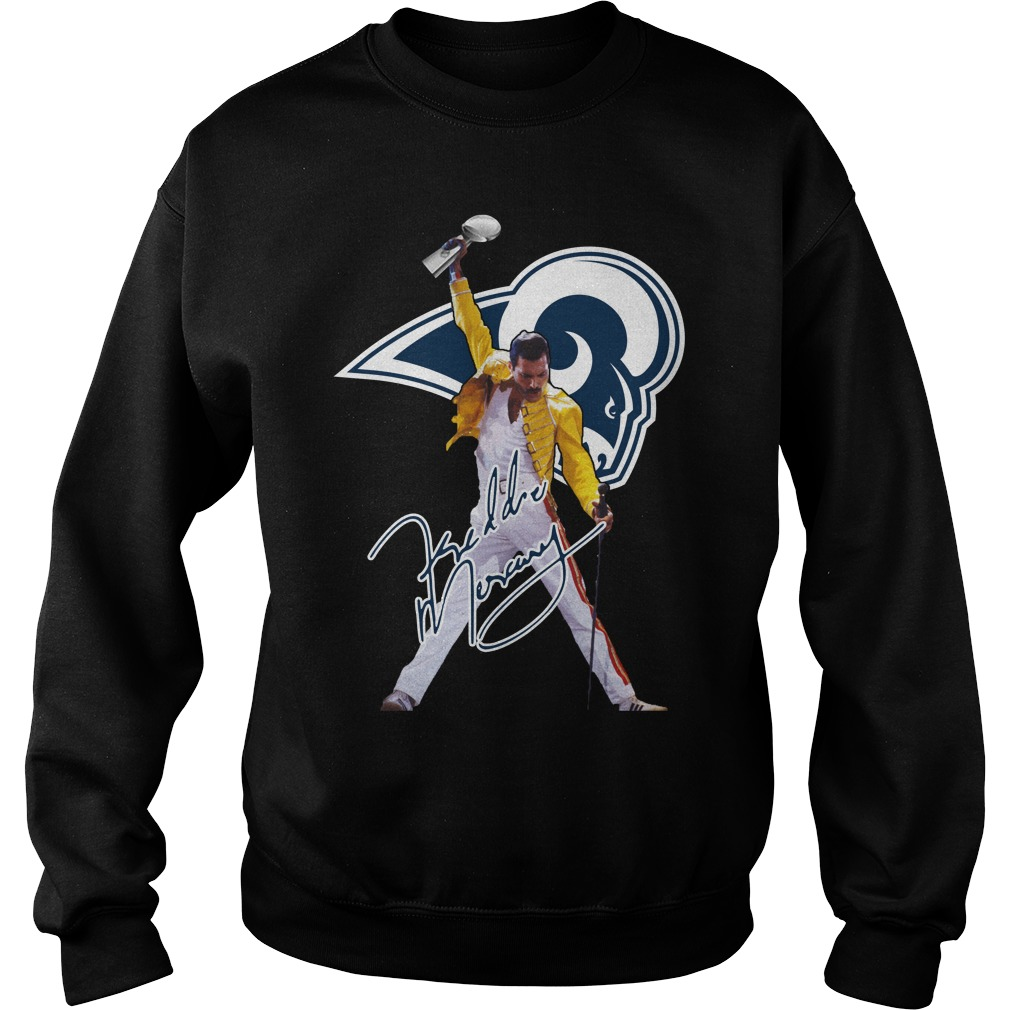 Los Angeles Rams Freddie Mercury Sweater