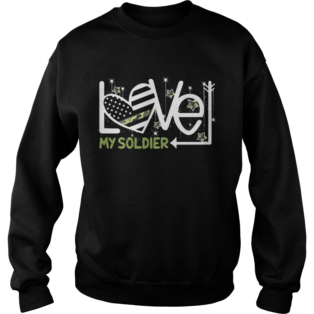 Love My Soldier Sweater