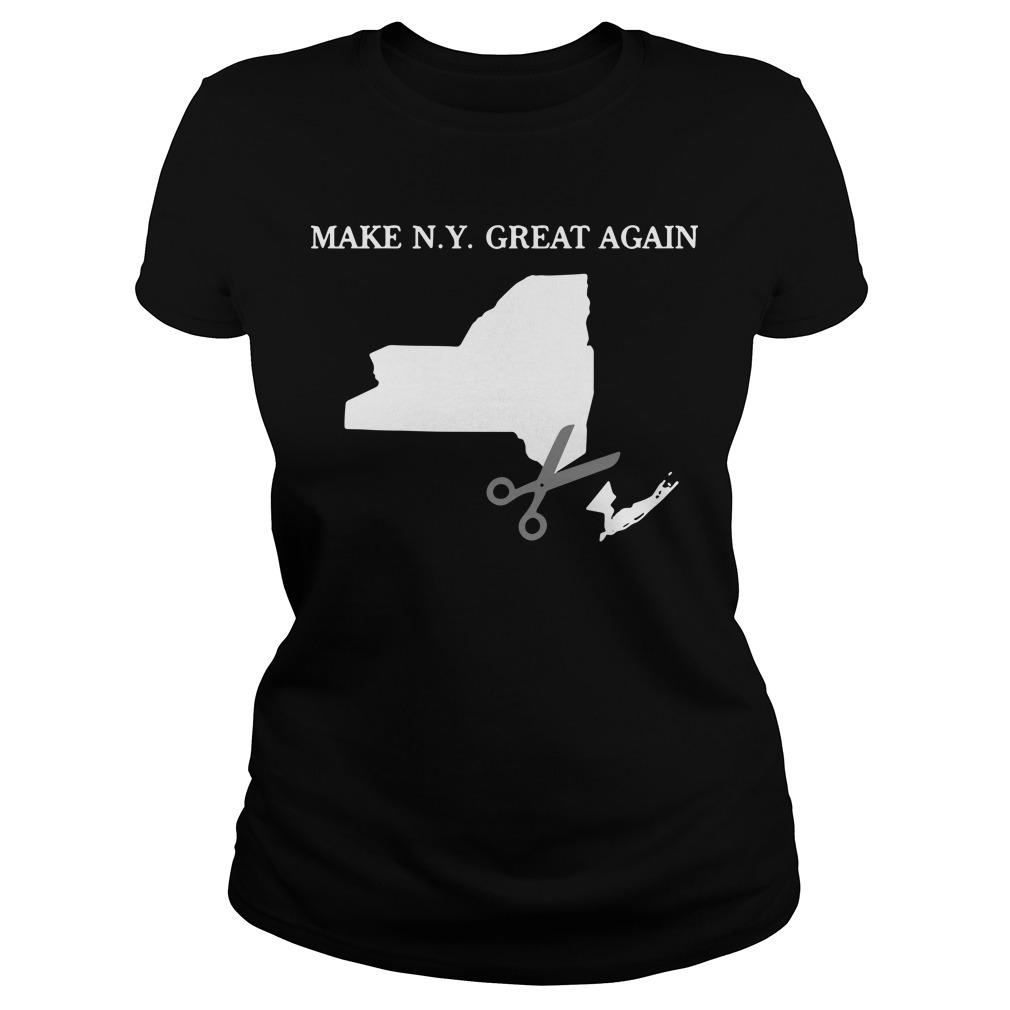 Make New York Great Again Ladies Tee