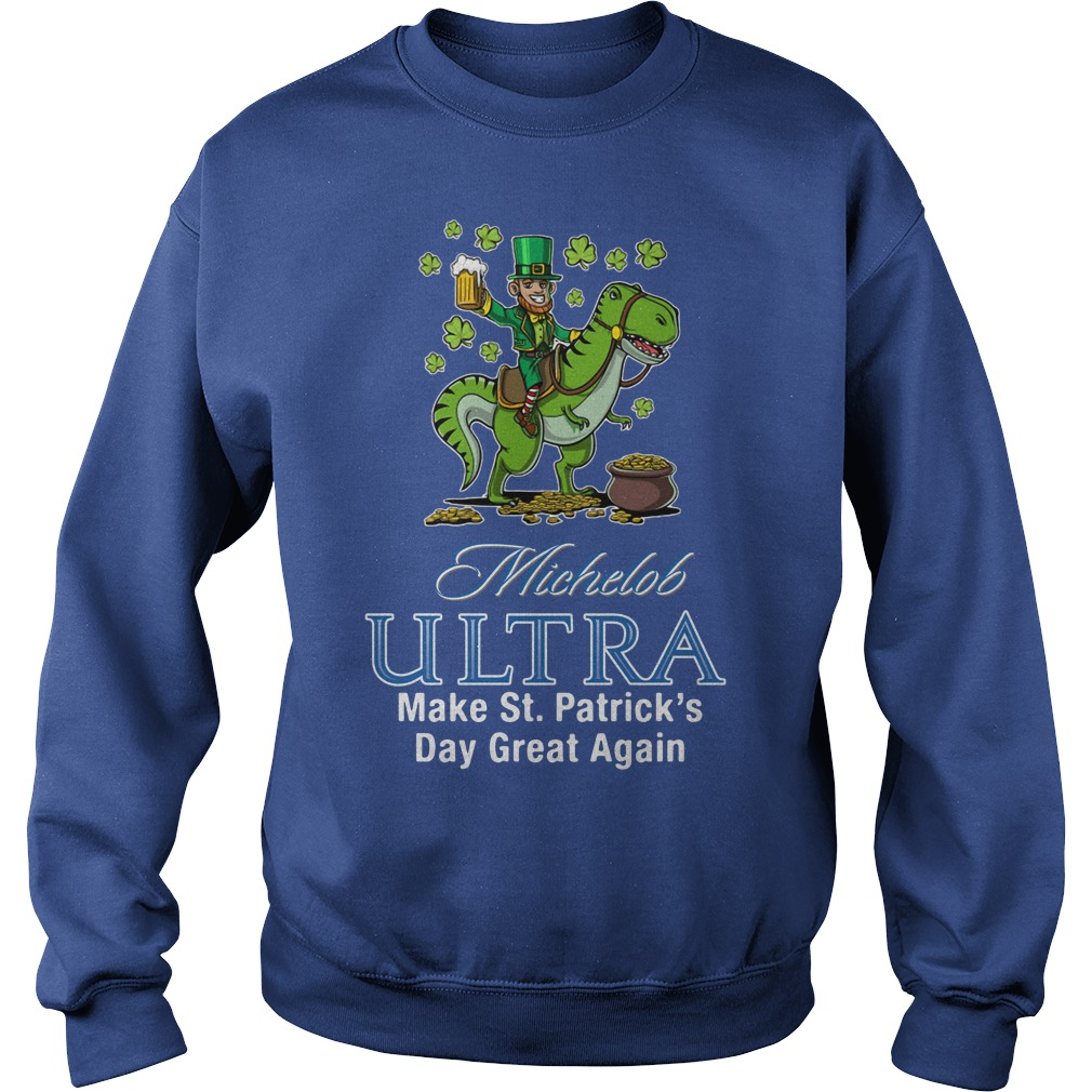 Michelob Ultra Make St. Patrick's Day Great Again Sweater