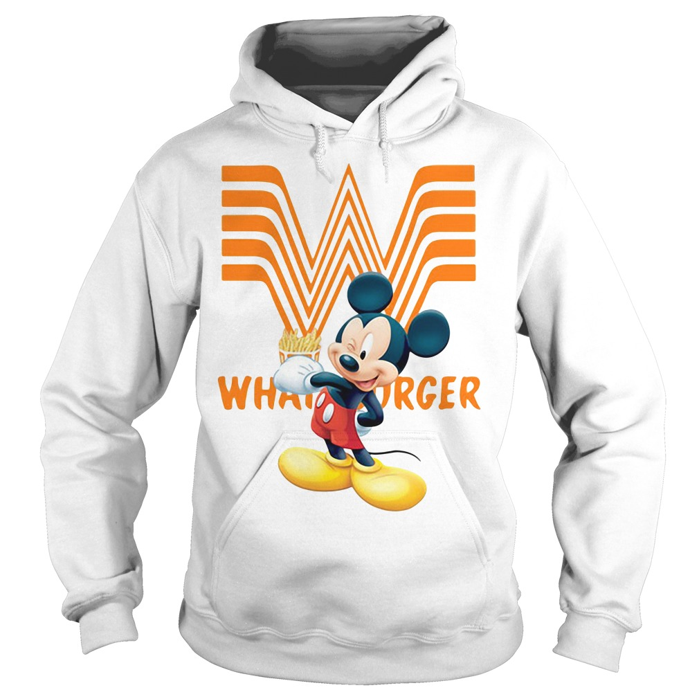 Mickey Mouse Whataburger Hoodie