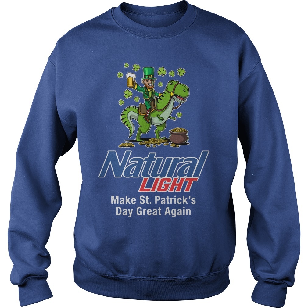 Natural Light Make St. Patrick's Day Great Again Sweater