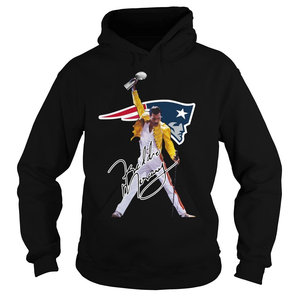 New England Patriots Freddie Mercury Hoodie