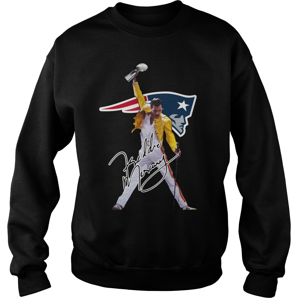 New England Patriots Freddie Mercury Sweater