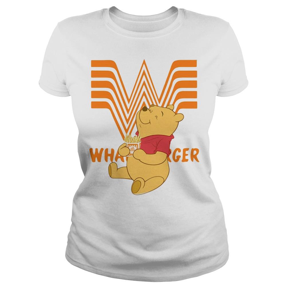 Pooh Whataburger Ladies Tee