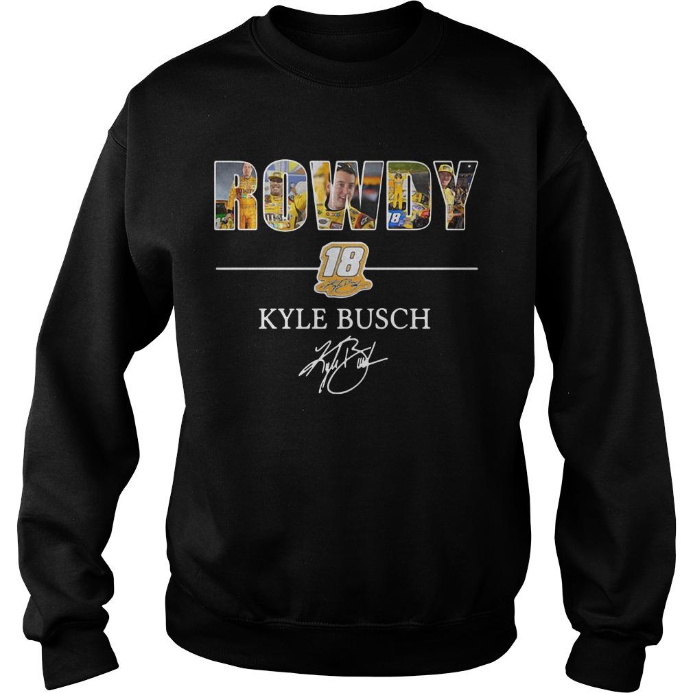 Rowdy 18 Kyle Busch Sweater