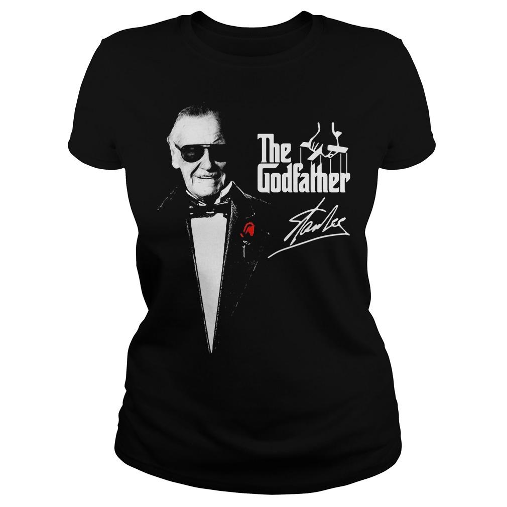 The Godfather Stan Lee Ladies Tee