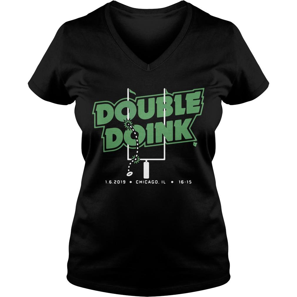 Double Doink Chicago 1 6 2019 V-neck T-shirt