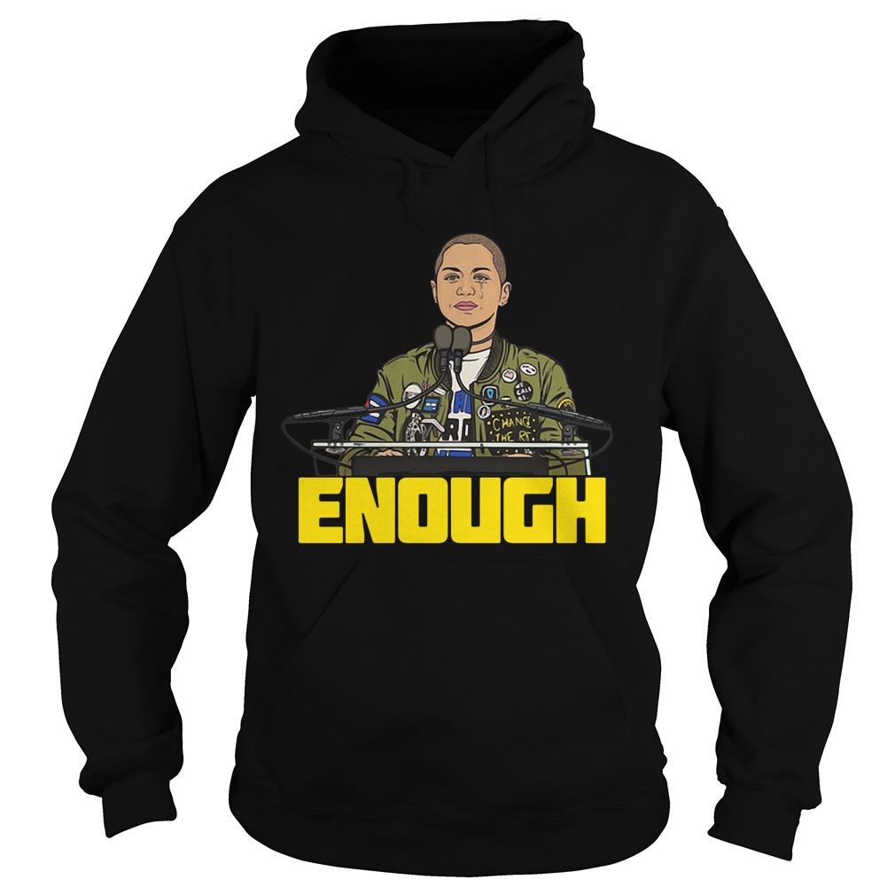 Enough Emma Gonzalez Hoodie