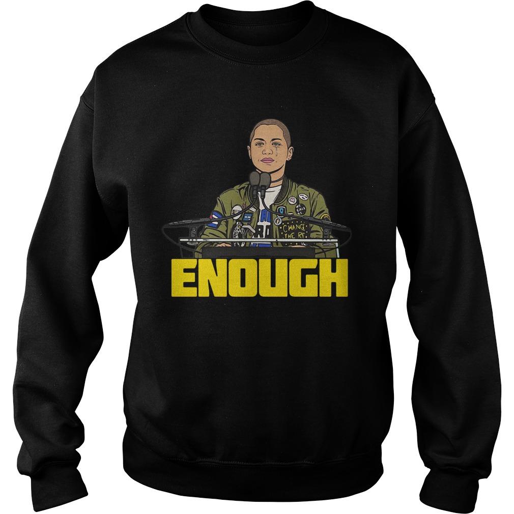 Enough Emma Gonzalez Sweater