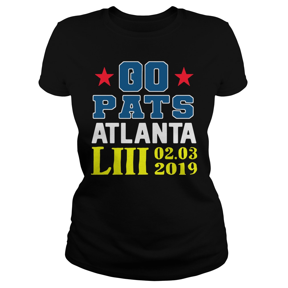 Go Pats Atlanta Liii 02 03 2019 Ladies Tee