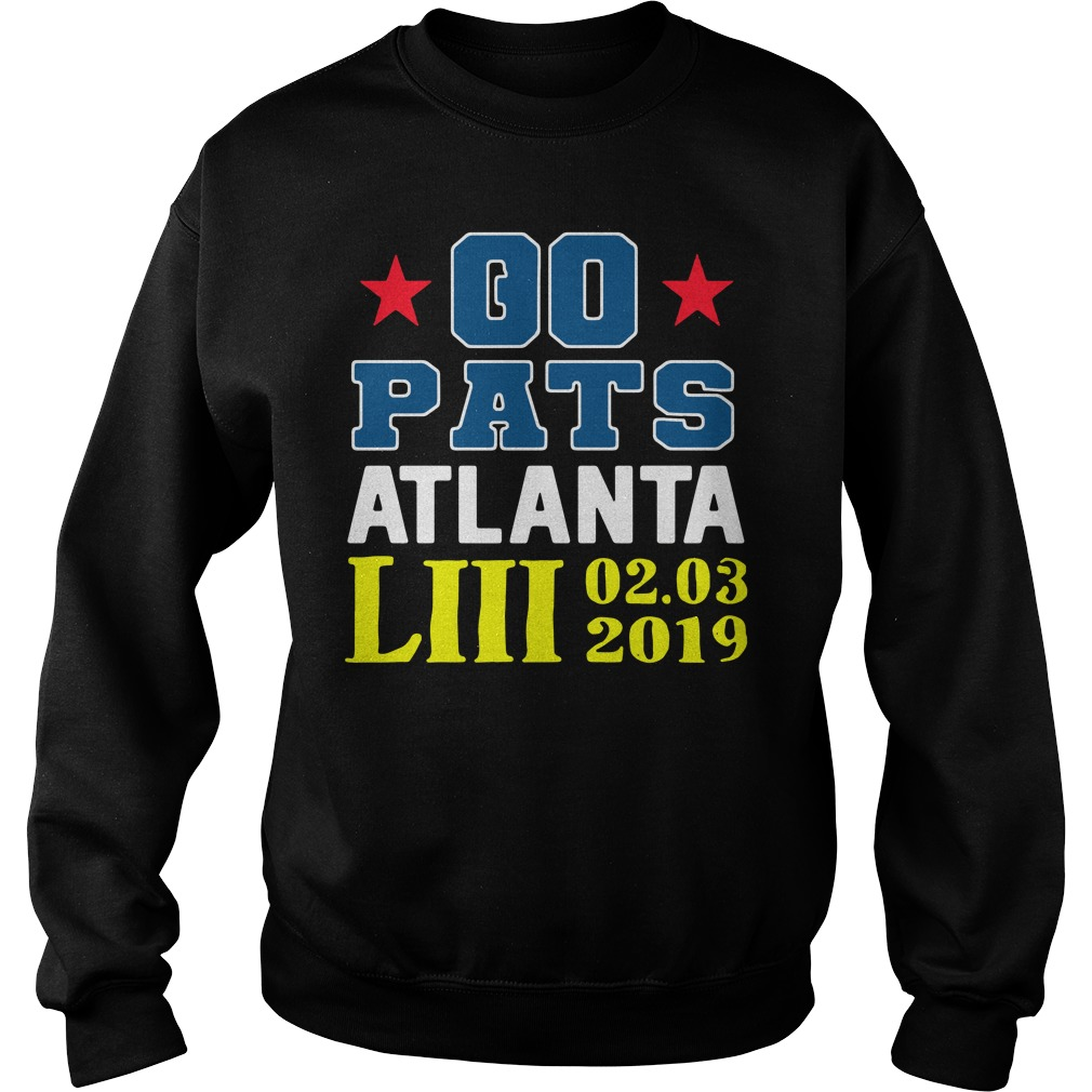 Go Pats Atlanta Liii 02 03 2019 Sweater