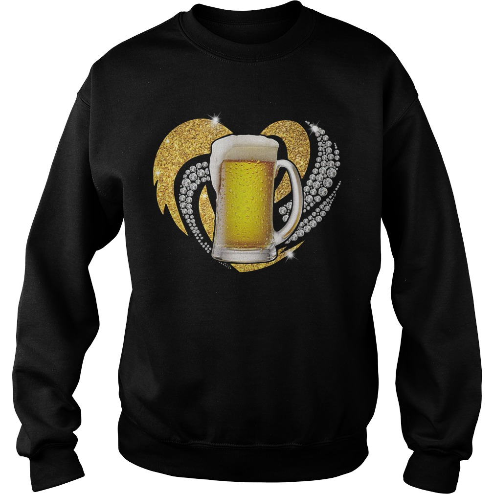 Love Beer Bling Sweater