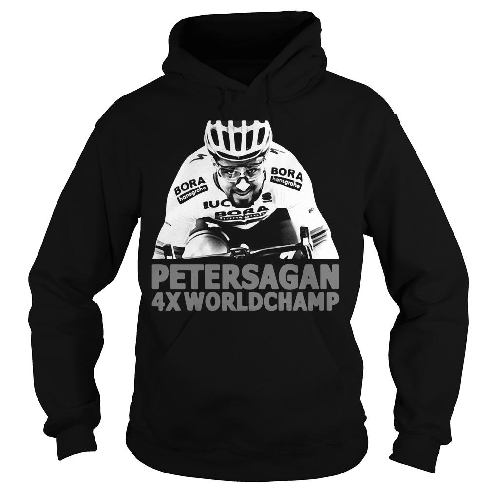 Peter Sagan 4x Worldchamp Hoodie