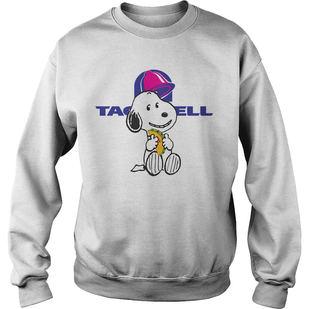Snoopy Tacos Bell Sweater