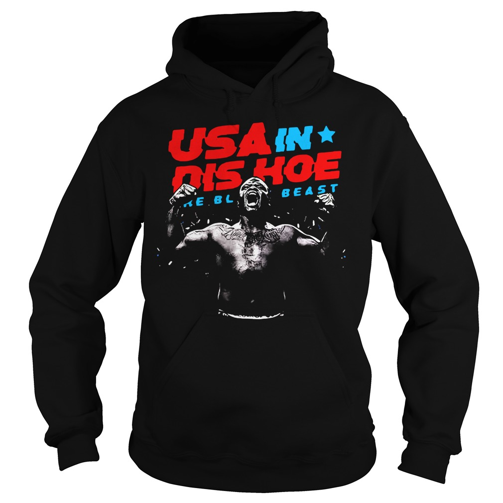 Usa In Dis Hoe Shirt The Black Beast Hoodie