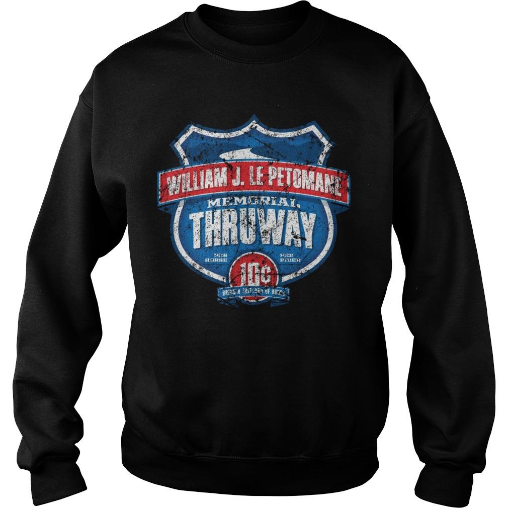 William J. Le Petomane Memorial Thruway Sweater