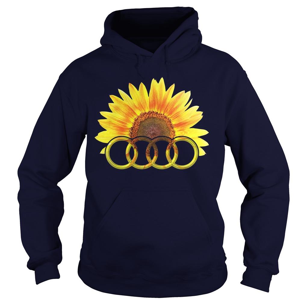 Audi Sunflower Hoodie