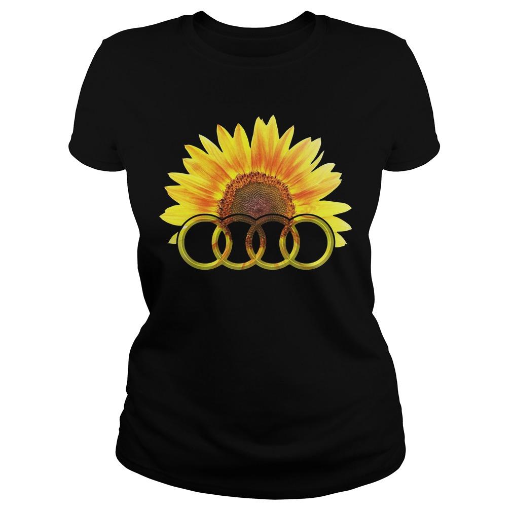 Audi Sunflower Ladies Tee