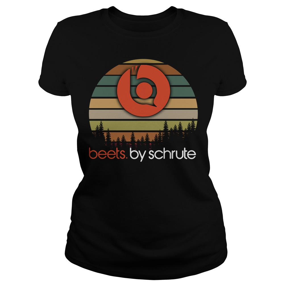Beets By Schrute Sunset Ladies Tee