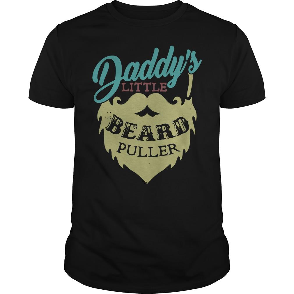 Daddy's Little Beard Puller Guys Shirt