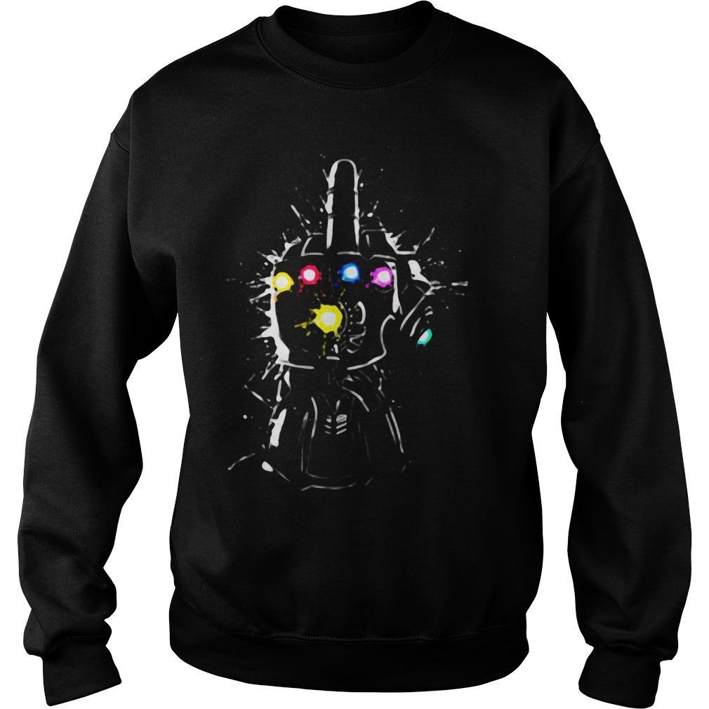 Fuck Thanos Gauntlet Avengers Endgame Sweater