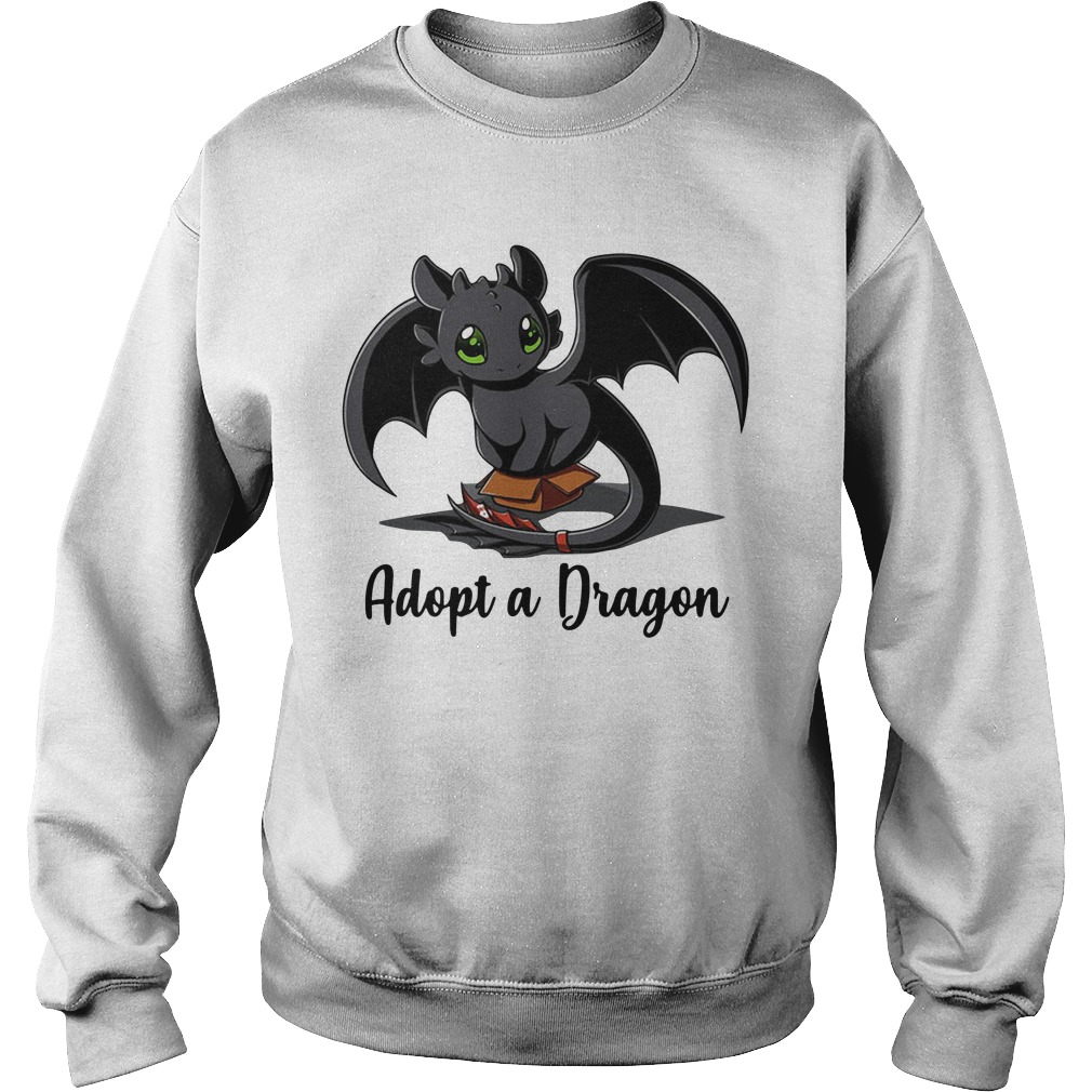 Night Fury Toothless Adopt A Dragon Sweater