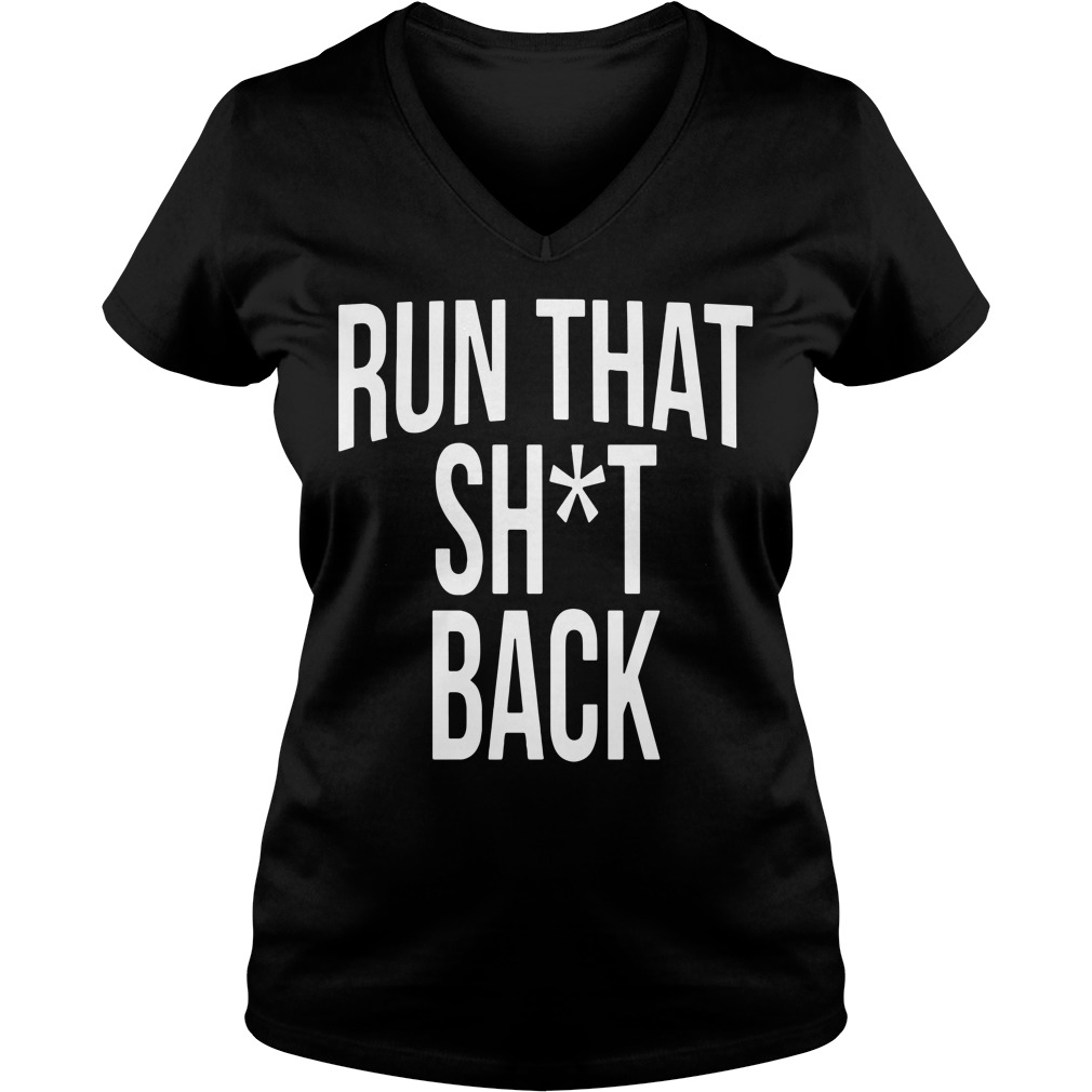 Trampa Run That Shit Back V-neck T-shirt