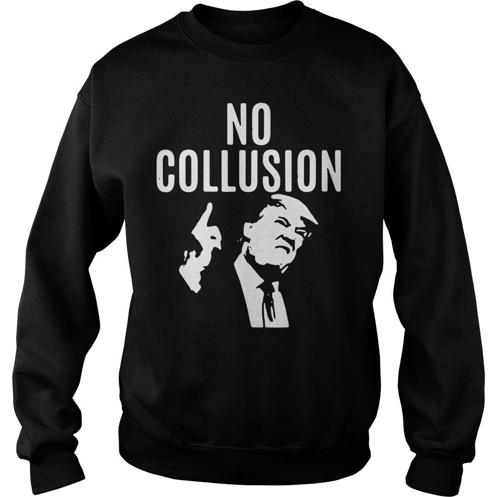 Trump No Collusion Sweater