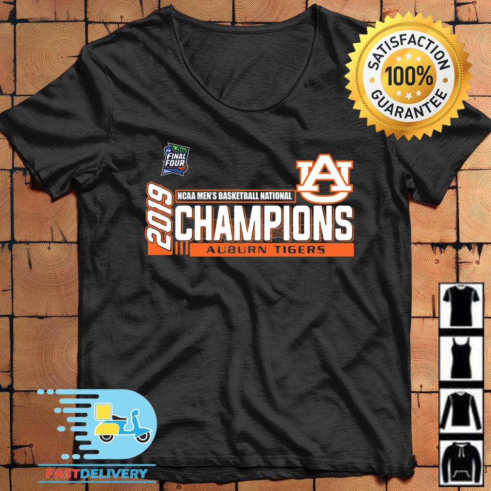 2019 Ncaa Mens Basketball National Champions Auburn Tigers Shirt