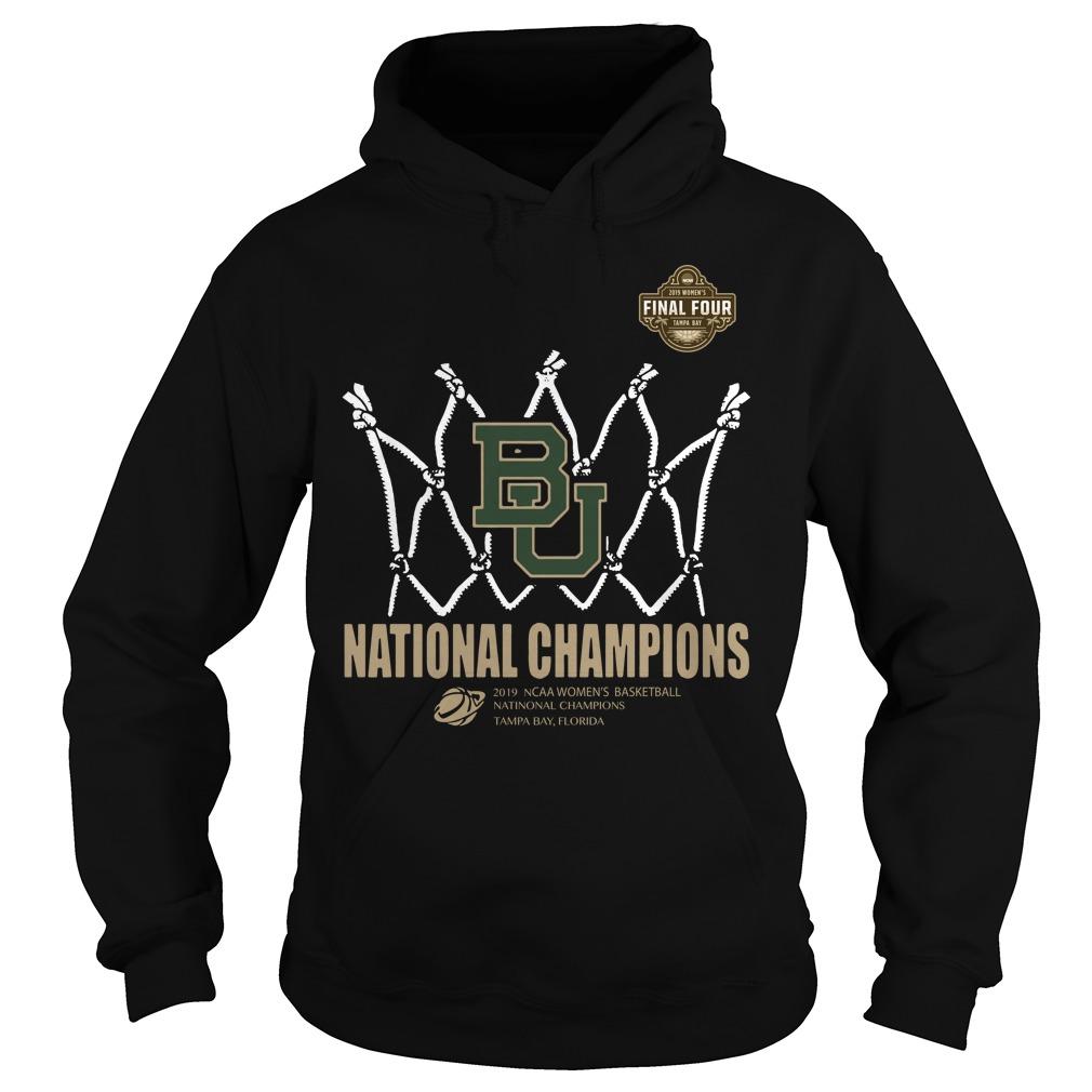 Baylor Lady Bears Final Four National Champions Tampa Bay Florida Hoodie