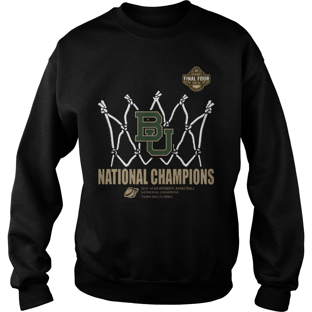 Baylor Lady Bears Final Four National Champions Tampa Bay Florida Sweater