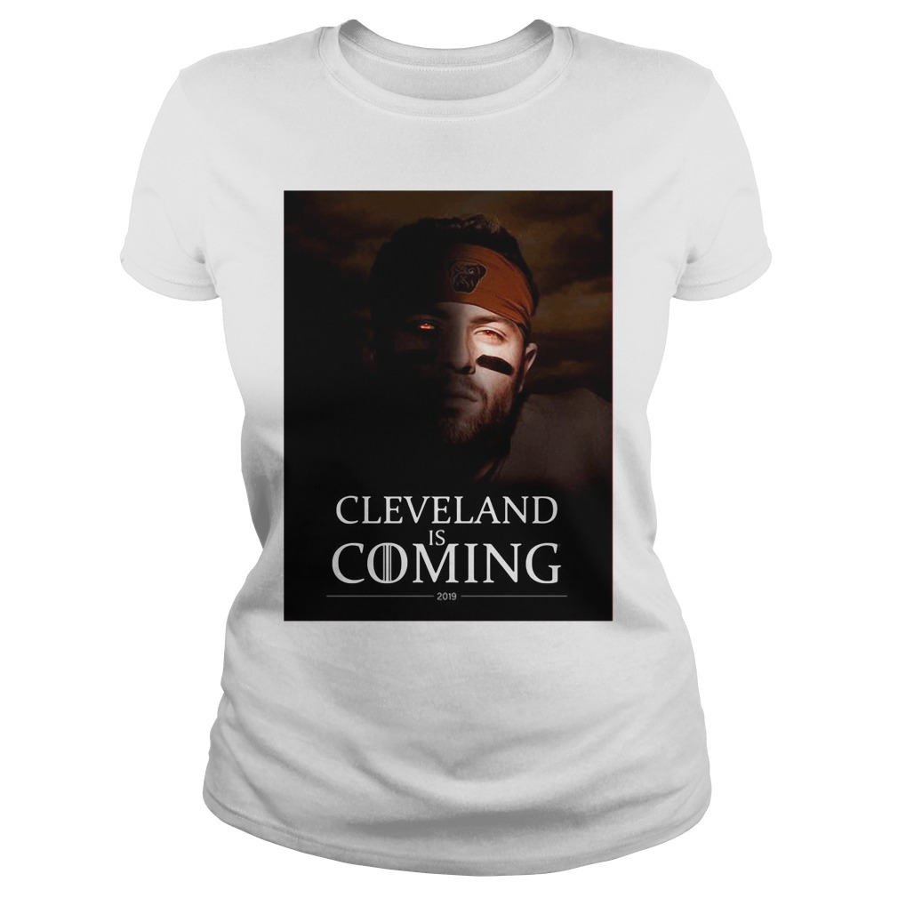 Cleveland Is Coming Ladies Tee