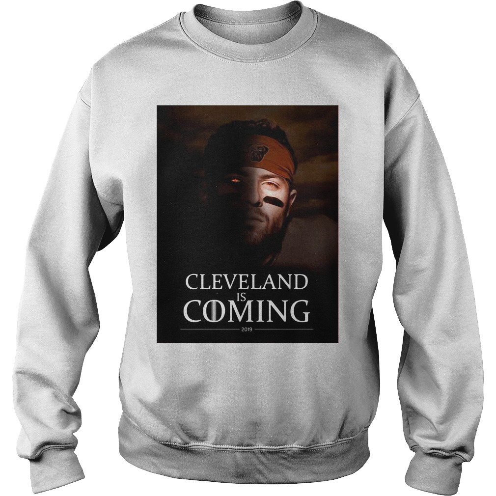 Cleveland Is Coming Sweater