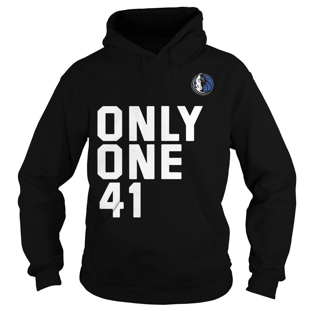 Dallas Mavericks Dirk 41.21.1 Only One 41 Hoodie