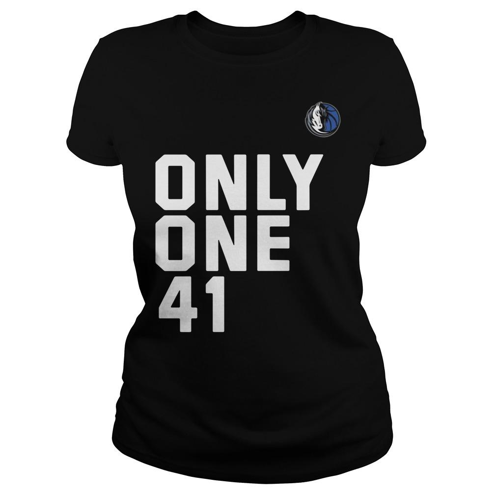 Dallas Mavericks Dirk 41.21.1 Only One 41 Ladies Tee