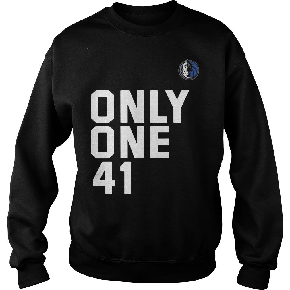 Dallas Mavericks Dirk 41.21.1 Only One 41 Sweater