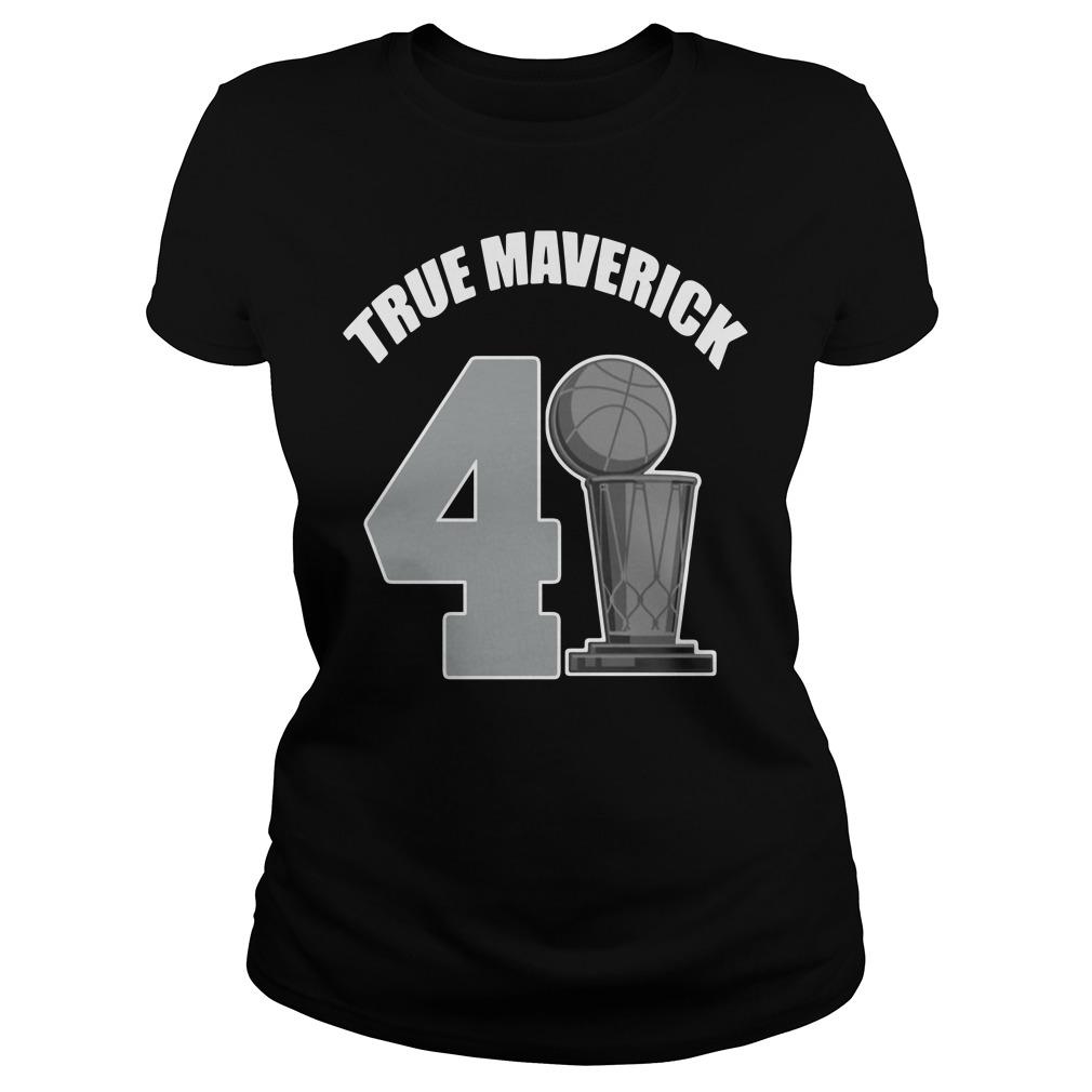 Dallas Mavericks Dirk True Maverick 41.21.1 Ladies Tee