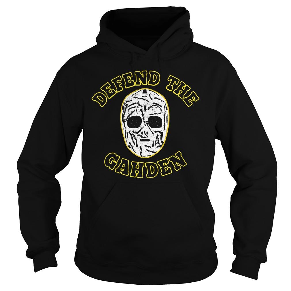 Defend The Gahden Goalie Mask Hoodie