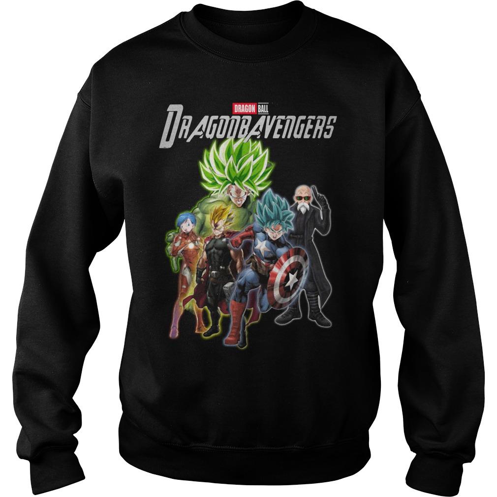 Dragon Ball Dragonbavengers Dragon Ball Avengers Endgame Sweater