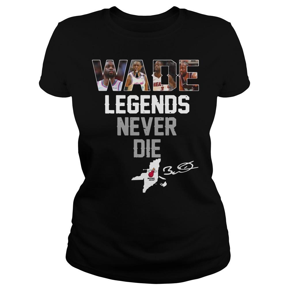 Dwyane Wade Legends Never Die Ladies Tee