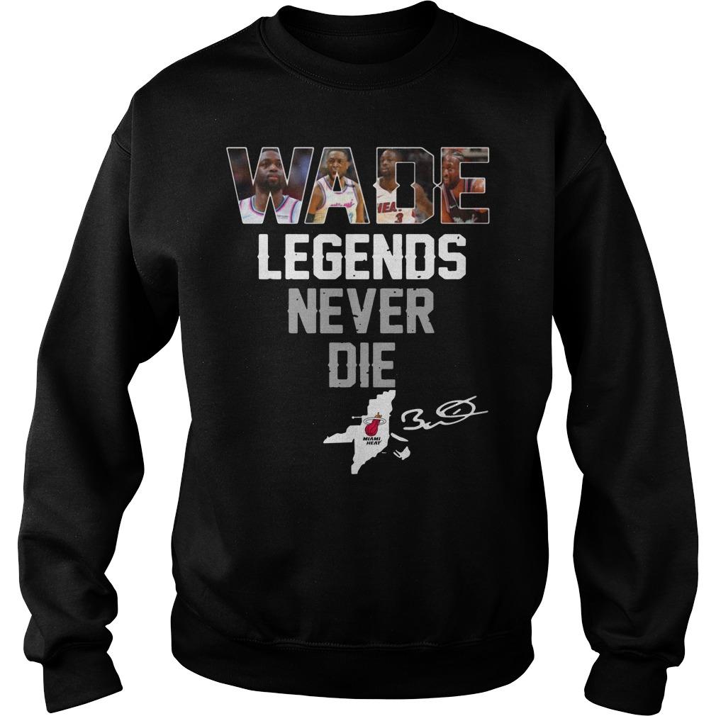 Dwyane Wade Legends Never Die Sweater