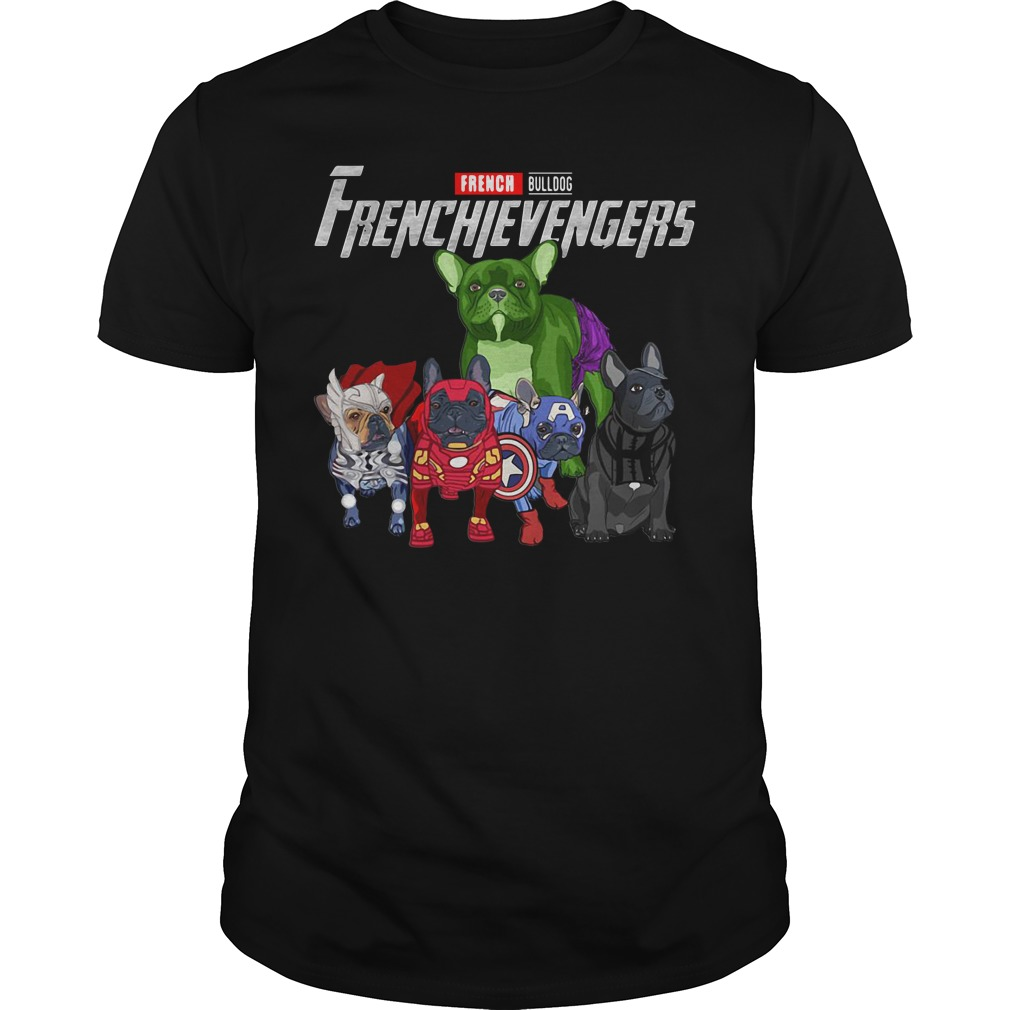 French Bulldog Frenchie Avengers Frenchievengers Guys Shirt