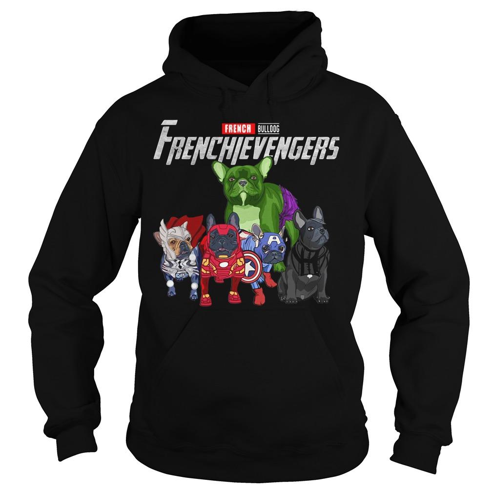 French Bulldog Frenchie Avengers Frenchievengers Hoodie