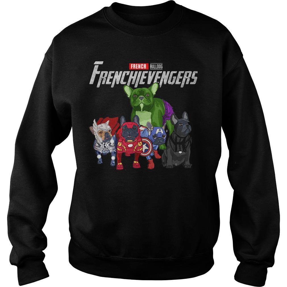 French Bulldog Frenchie Avengers Frenchievengers Sweater