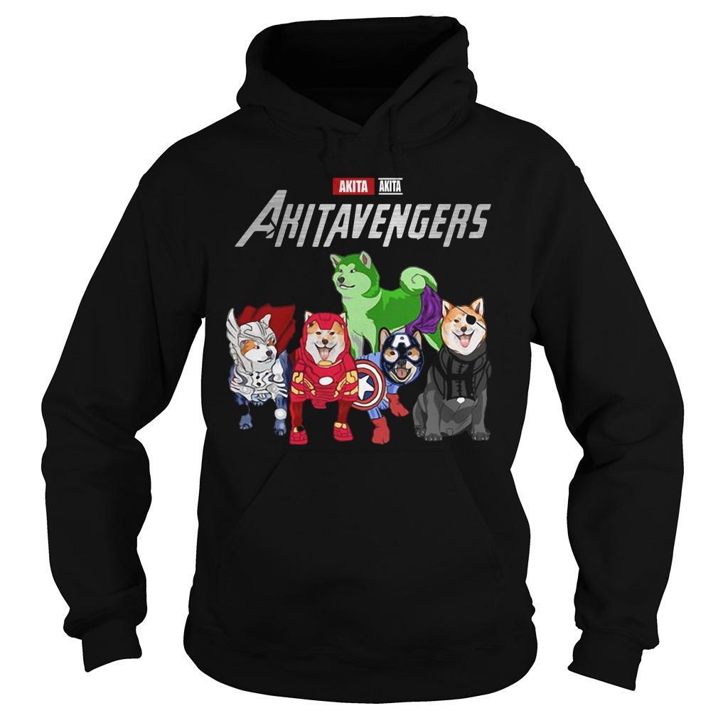 Marvel Avengers Akita Akitavengers Hoodie