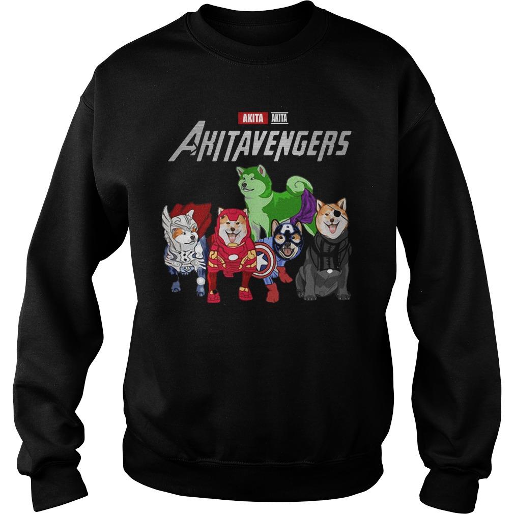 Marvel Avengers Akita Akitavengers Sweater