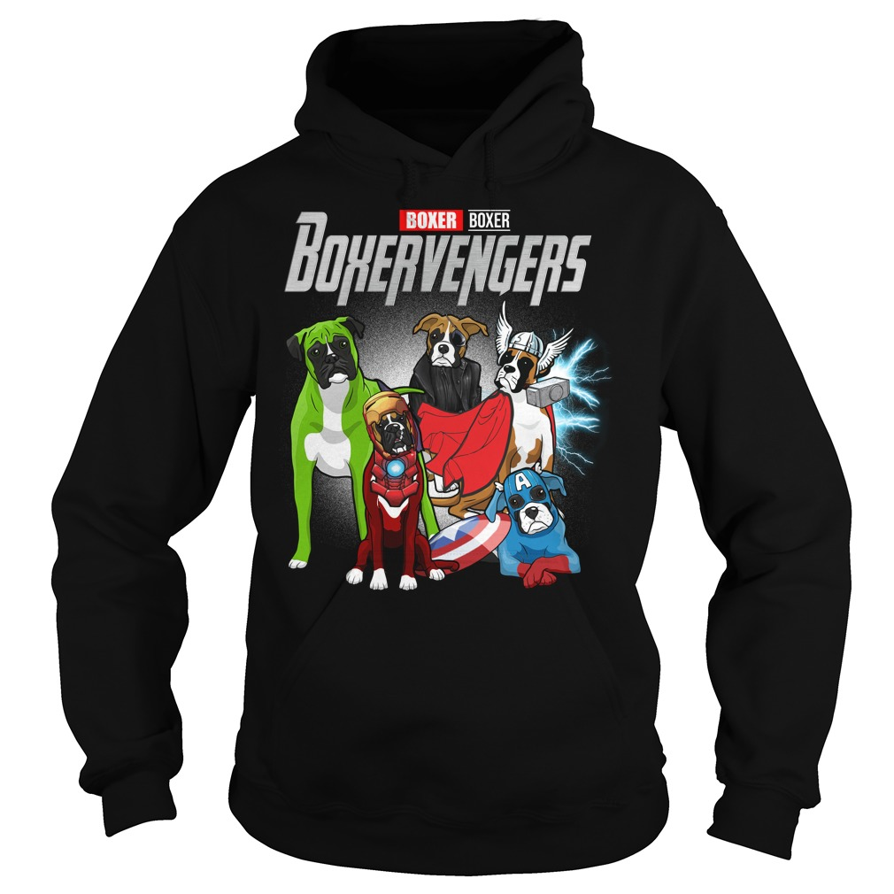 Marvel Avengers Boxer Boxervengers Hoodie